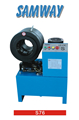 S76 hose crimping machine up to 3''