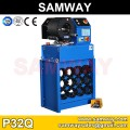 Samway P32Q Hose Crimping Machine Hose Crimper With Quick Change tool Hydraulic Swager and die rack