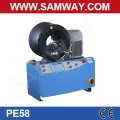 Samway PE58 S350L 4'' Industrial hose 2'' 6SP hydraulic hose Crimping Machine Hose Crimper Production