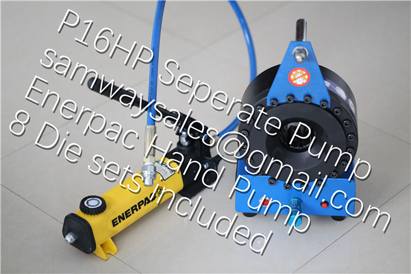 Finnpower P16HP style Ultra Portable Crimping Machine up to 1