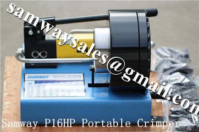 Samway P16HP 1'' Portable Hose Crimping Machine